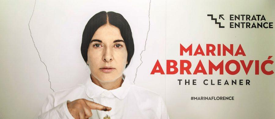 Marina Abramovic in mostra a Firenze con la retrospettiva The Cleaner
