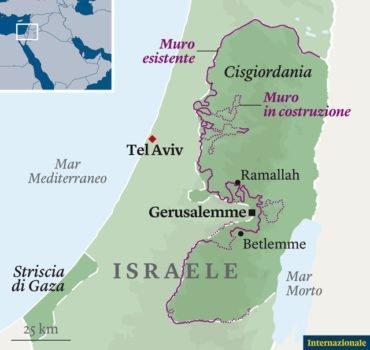 Cartina Geografica Della Palestina Di Oggi.La Questione Palestinese In 10 Punti Come Israele Ha Derubato La Palestina