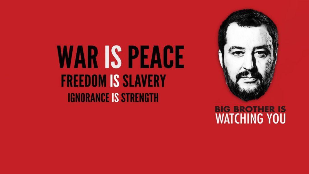Con 1984 Orwell aveva previsto anche Salvini e Di Maio
