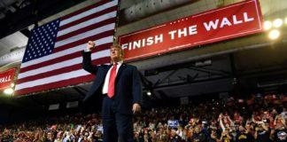 Stato di emergenza nazionale USA Trump