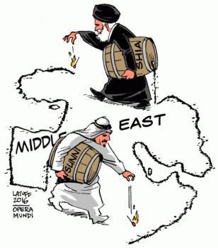 sunniti sciiti medio oriente