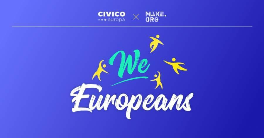 consultazione WeEuropeans europee europa