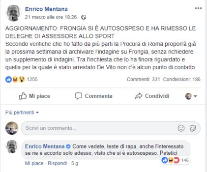Enrico Mentana - teste di rapa