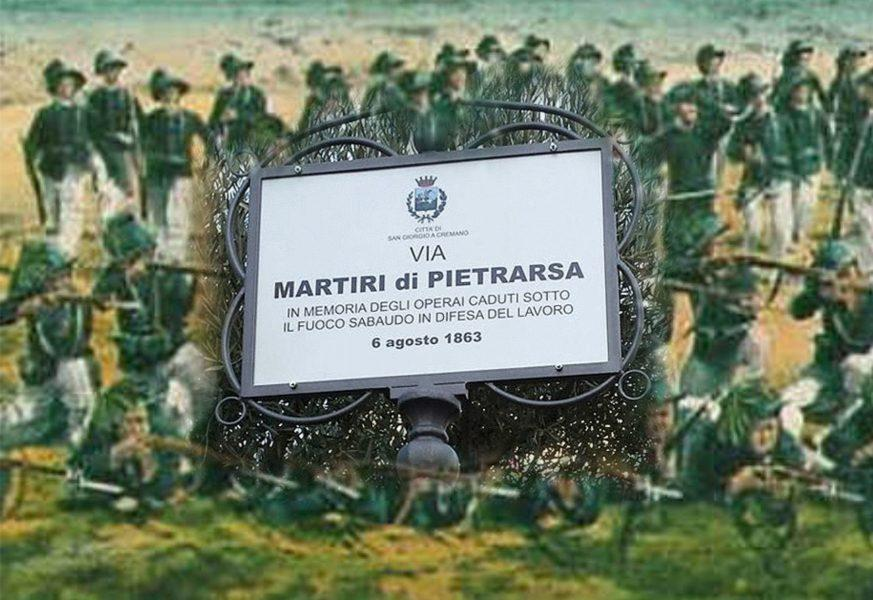 Napoli Pietrarsa strage operaia sciopero