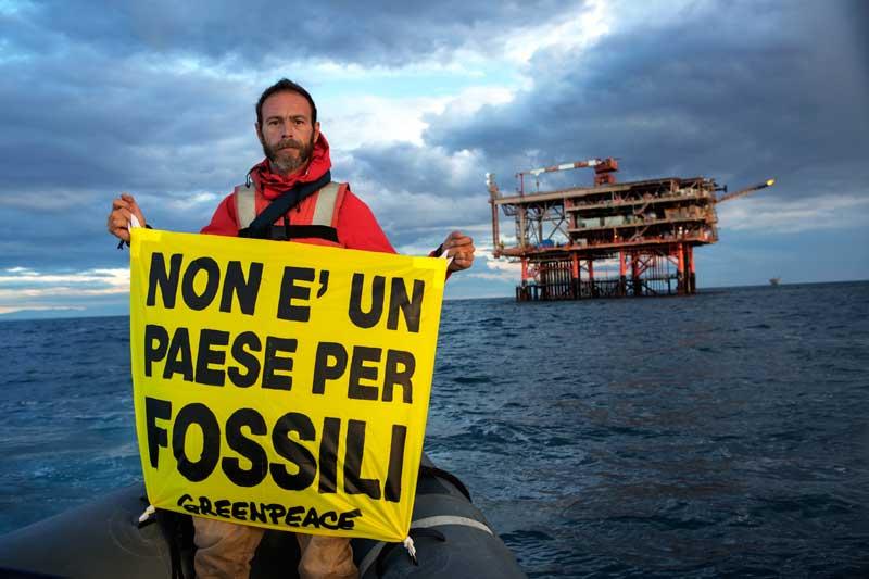 Greenpeace: «Chiudere il capitolo trivelle è fondamentale per la tutela del territorio»