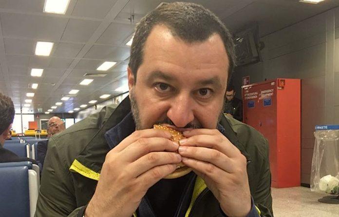 Salvini e Twitter