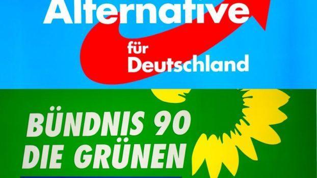 Europee Germania Die Grunen AfD