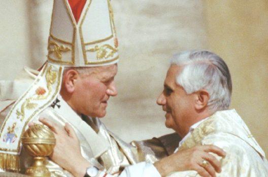 Papa Giovanni Paolo II Benedetto XVI