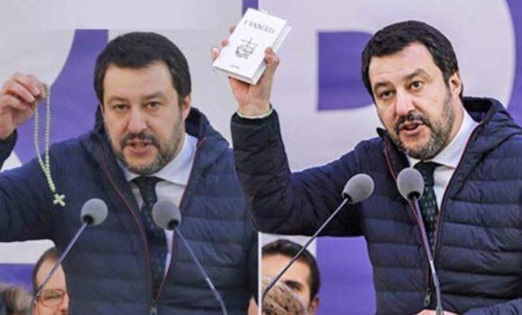 Salvini Milano rosario Vangelo