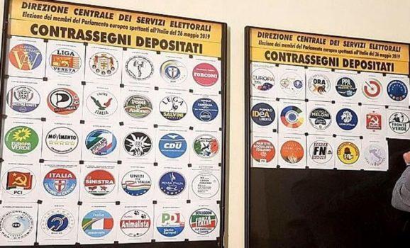 Voto Elezioni Europee Partiti Italia