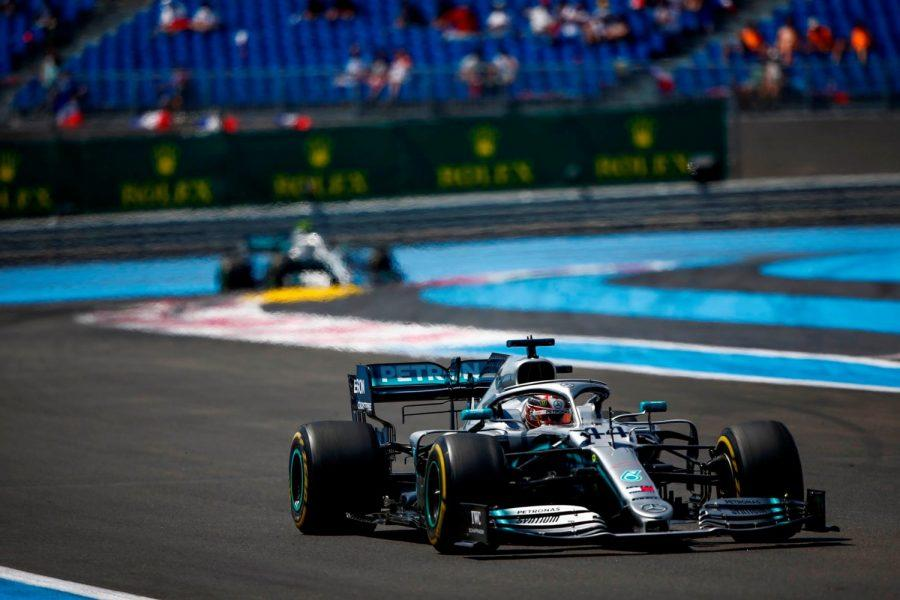 Francia, Hamilton insegue record, Ferrari al palo