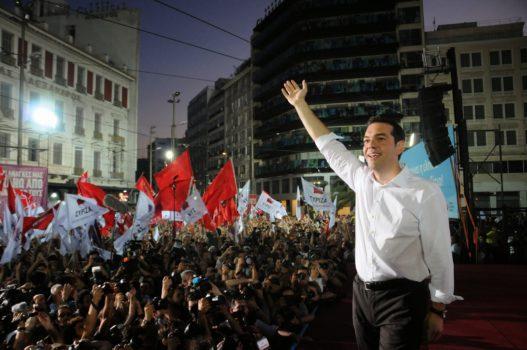 Tsipras Sinistra Radicale europa