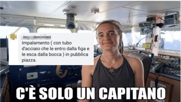 Carola Rackete insulti sessisti