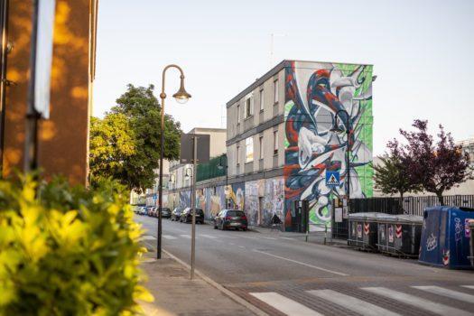 Super Walls, street art, antismog