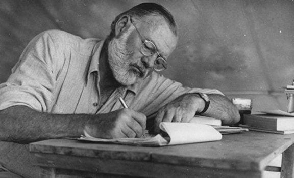 mare oceano Hemingway scrittore autore
