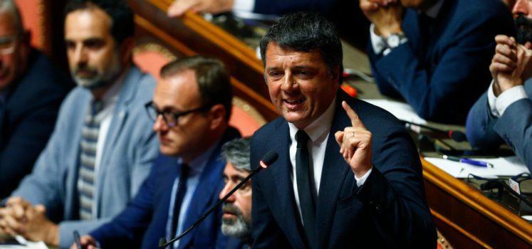 Conte Senato Renzi