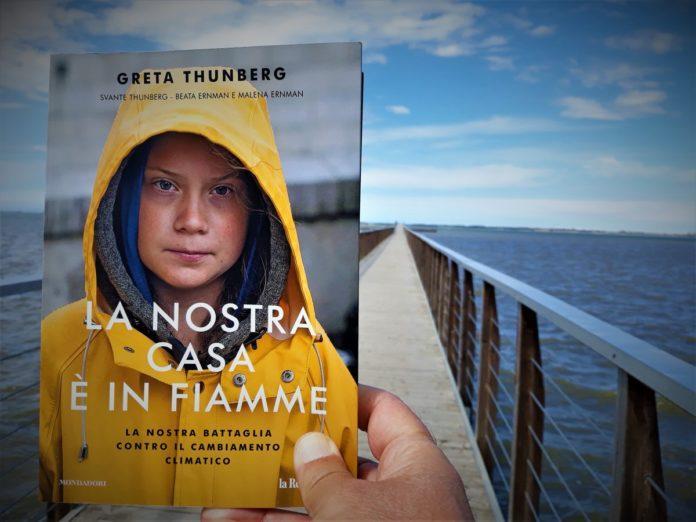Greta Thunberg, La nostra casa è in fiamme