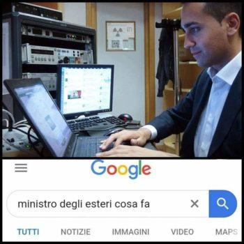 meme Di Maio ministro degli Esteri