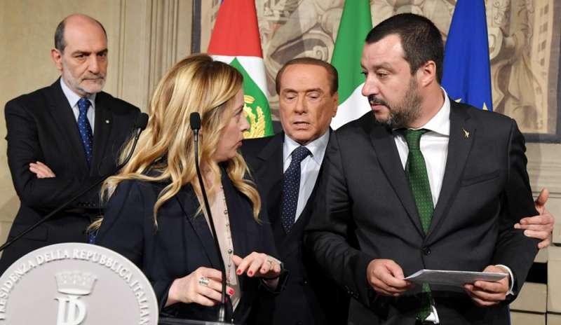 Salvini, Meloni e la disfatta del centrodestra sovranista