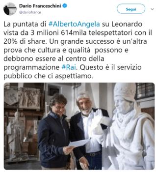 Alberto Angela - Ulisse - De Filippi
