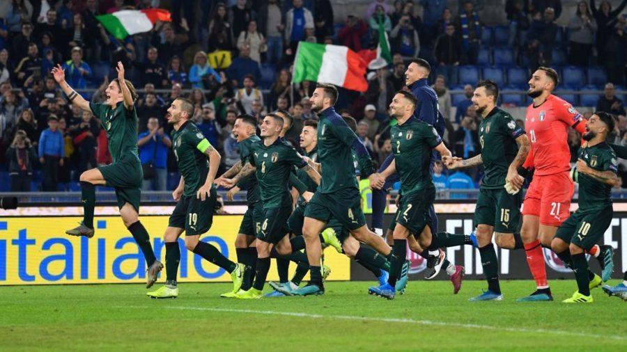 Italia maglia verde