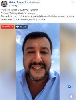 Confronto Renzi Salvini
