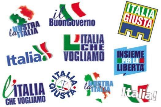 Forza Italia bozzetti
