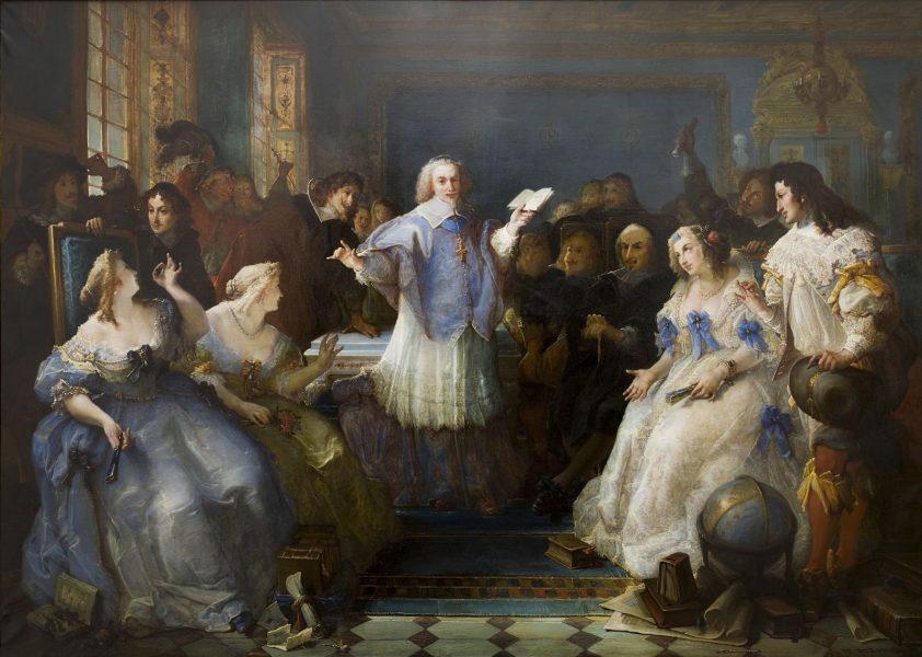 Il salotto letterario di Catherine de Rambouilet: il riformismo delle