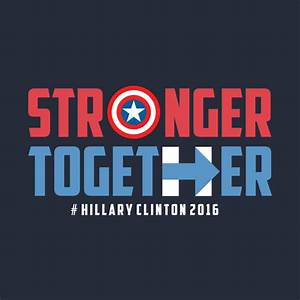 Clinton stronger together