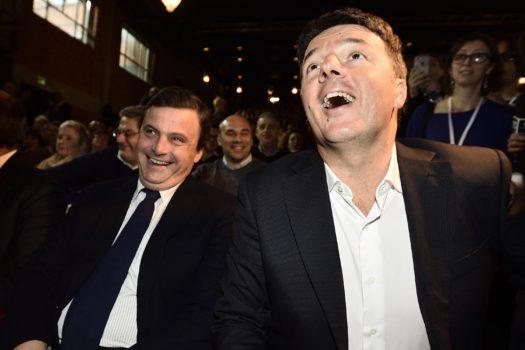 Calenda, Renzi