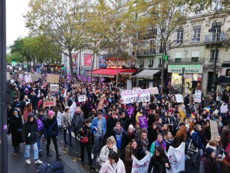 23N parigi violenza sulle donne