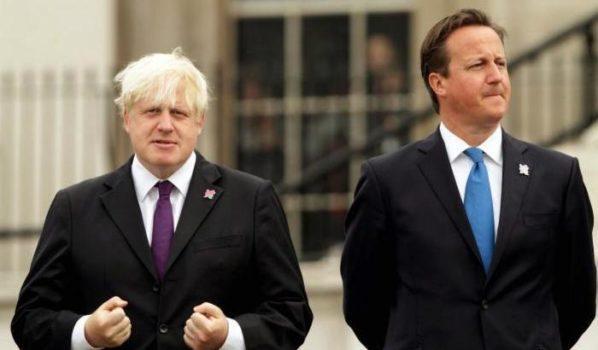 Boris Johnson, David Cameron, Brexit