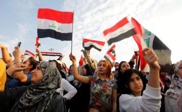 iraq proteste antigovernative iran