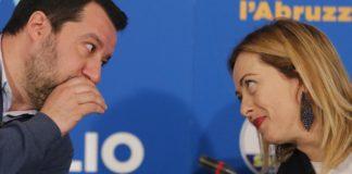 Giorgia Meloni Salvini
