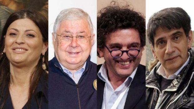 Jole Santelli, Pippo Callipo, Francesco Aiello, Carlo Tansi