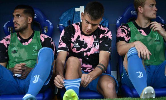 Dybala in panchina nella prima giornata di campionato, contro il Parma