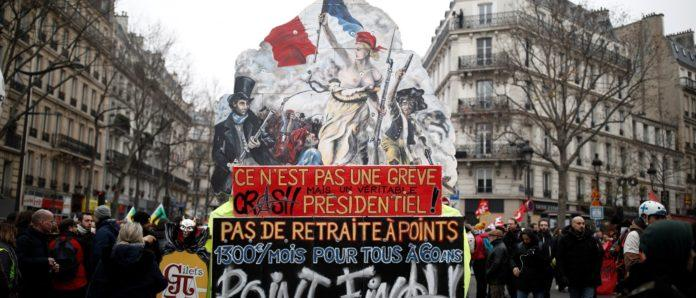 riforma delle pensioni francia