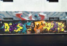 A Casoria il writer Alessio Vallefuoco rende omaggio a Kobe Bryant
