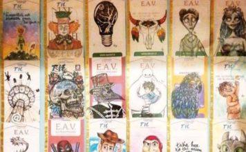 I biglietti della Circumvesuviana diventano arte in miniatura: #trainticketart, i disegni di Anna