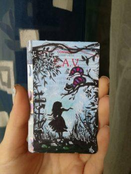 Biglietti della Circumvesuviana diventano arte con i disegni di Anna #trainticketart