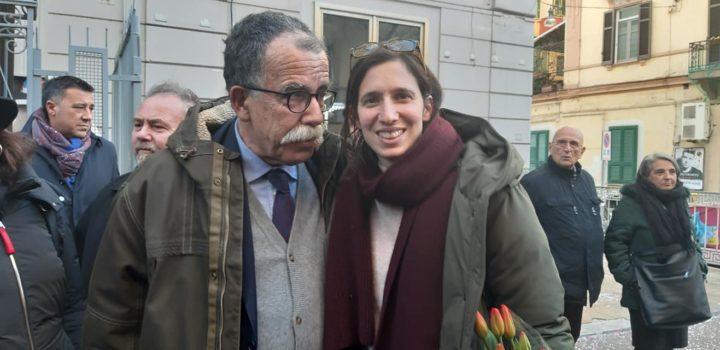 Sandro Ruotolo e Elly Schlein