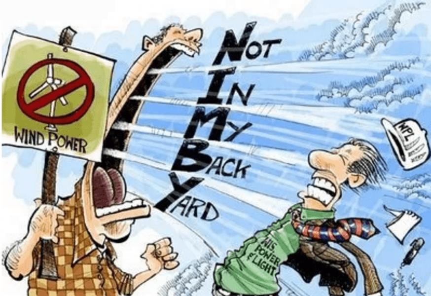Cos'è la sindrome NIMBY? Un capitolo inedito del conflitto ambientale