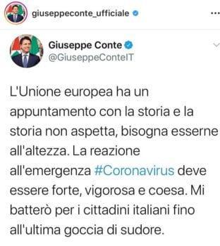 Coronabond- Europa