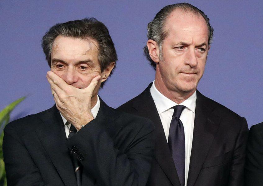 Fontana e Zaia, è questo il meglio che la Lega ha da offrire all'Italia?