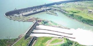 La diga idroelettrica di Itaipù