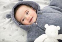 abbigliamento per un neonato