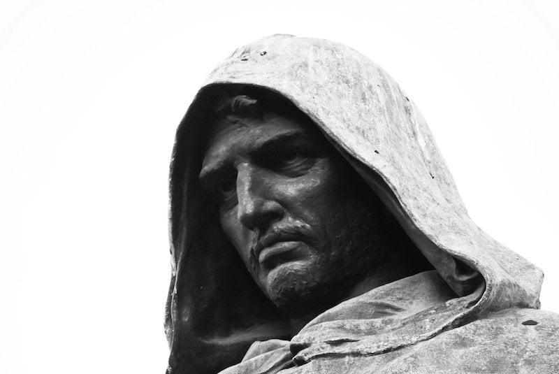 giordano bruno, maggio dei monumenti