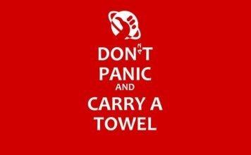 towel day guida galattica
