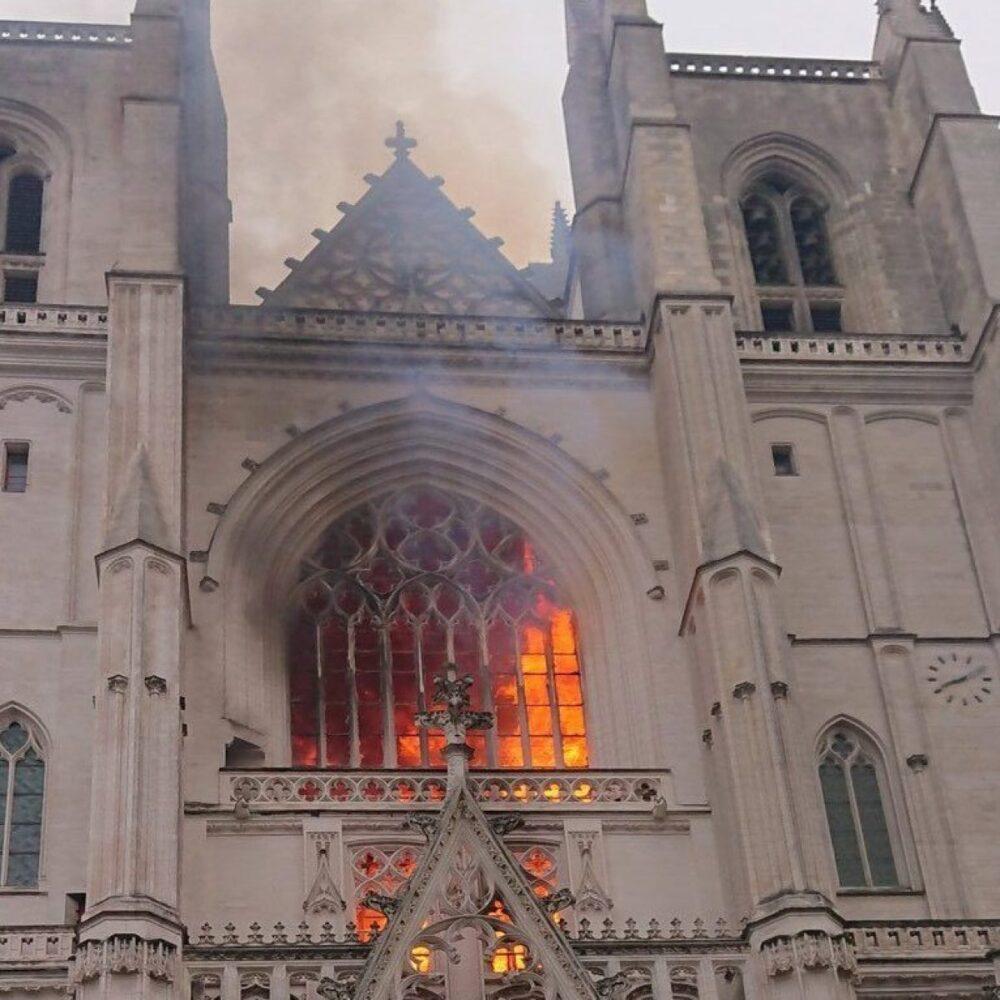Da Notre-Dame a Nantes, quando l'arte va in fiamme