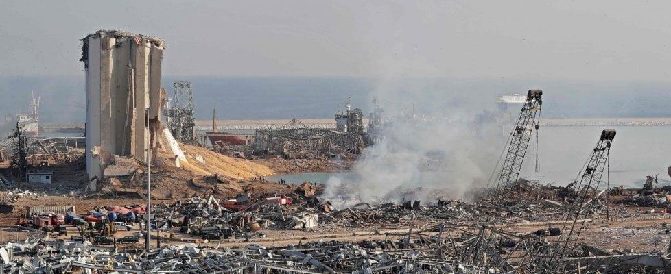 in Libano le esplosioni non fanno altro che aggravare la situazione